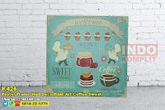 Poster Frame Wall Deco Print Art Coffee Sweet