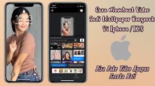 Cara Membuat Video Jadi Live Wallpaper Di Iphone