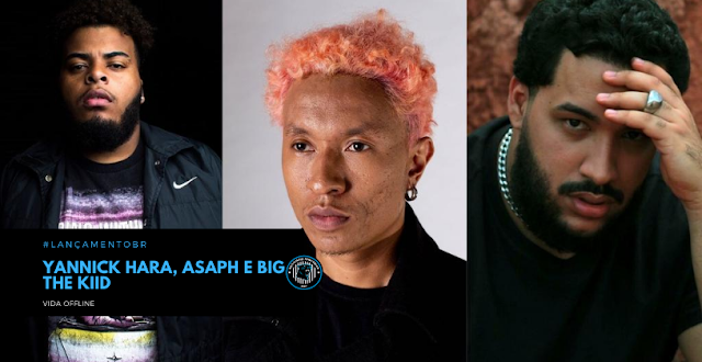 Yannick Hara, Asaph e BIG THE KIID criticam uso compulsivo de tecnologia em novo single
