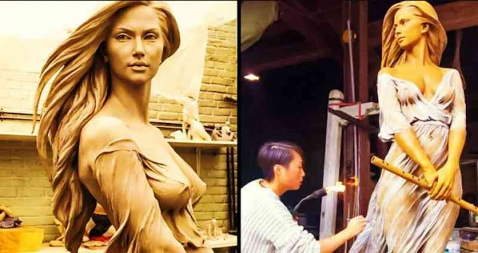 15 Sculptures Of Woman That Are Too Beautiful for This World