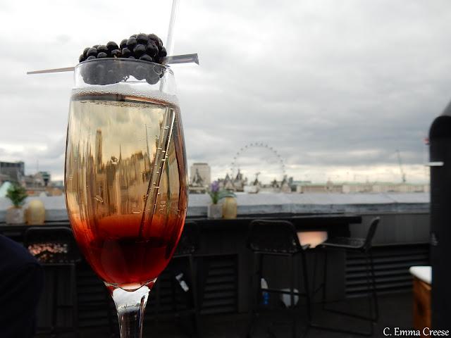 Trafalgar Hotel's Vista Bar Adventures of a London Kiwi
