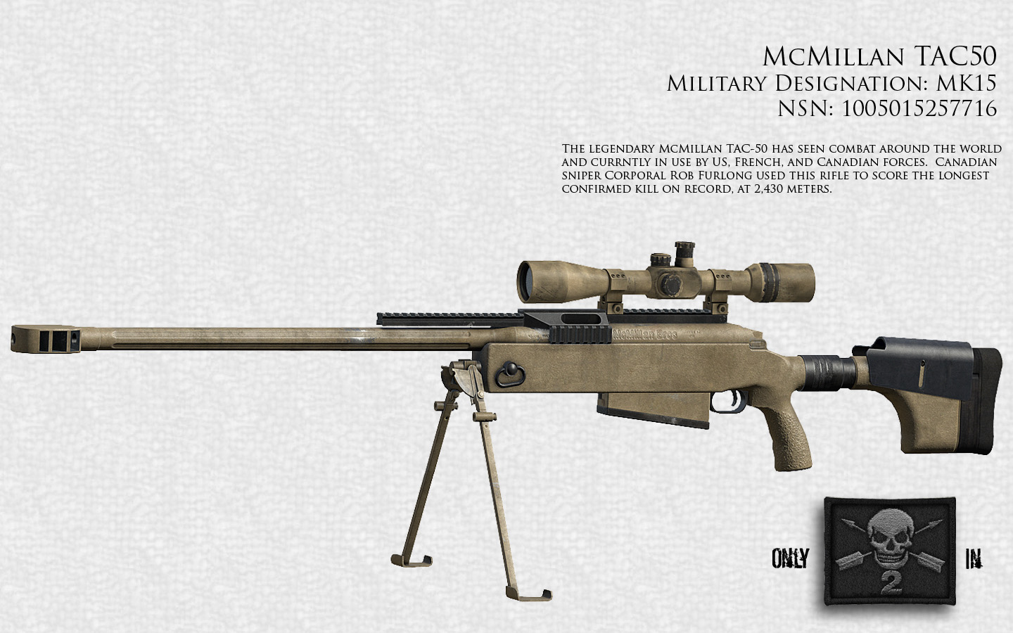 NationStates | Dispatch | Wolf Corps Incorporated Arsenal M14 Ebr Sniper Rifle