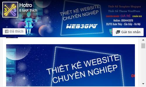 fanpage web3giay