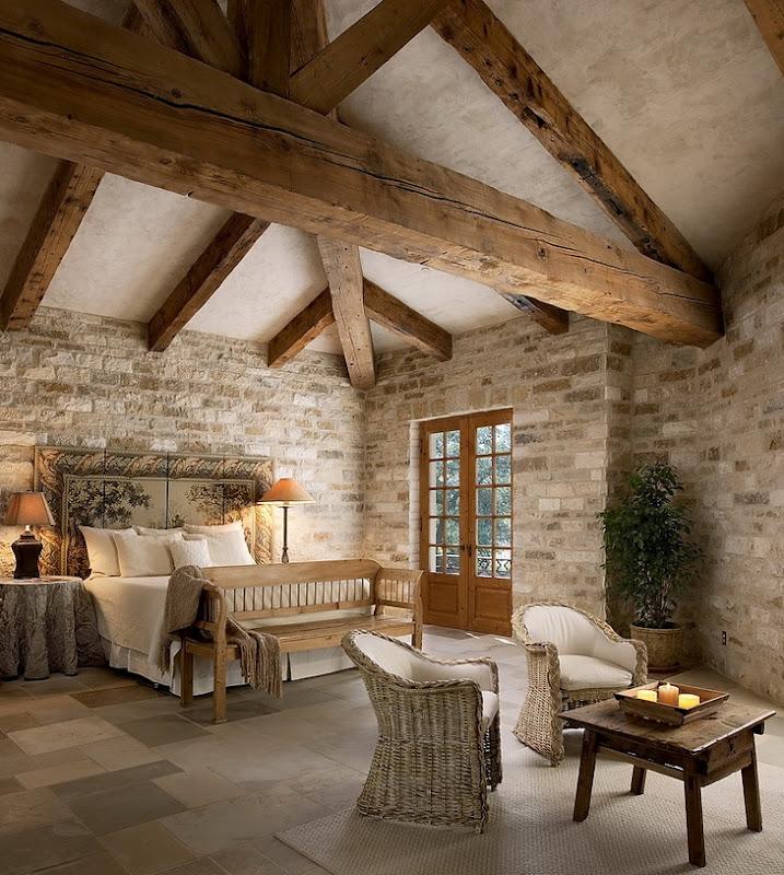 Post And Beam Decorating - Home Interior Design