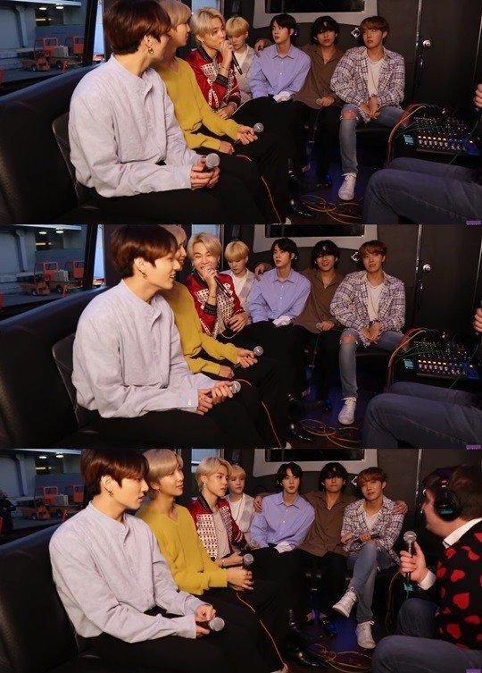 BTS Jimin Amerikan radyo şovunda Kore ulusal marşını söyledi