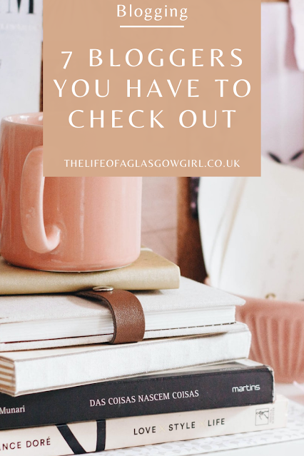 Pinterest graphic for 7 Bloggers you HAVE to check out - Meet my October advertisers