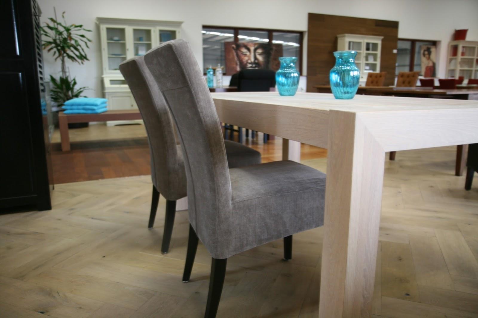Strakke Houten Eettafel.Strakke Moderne Eettafel Norfolk