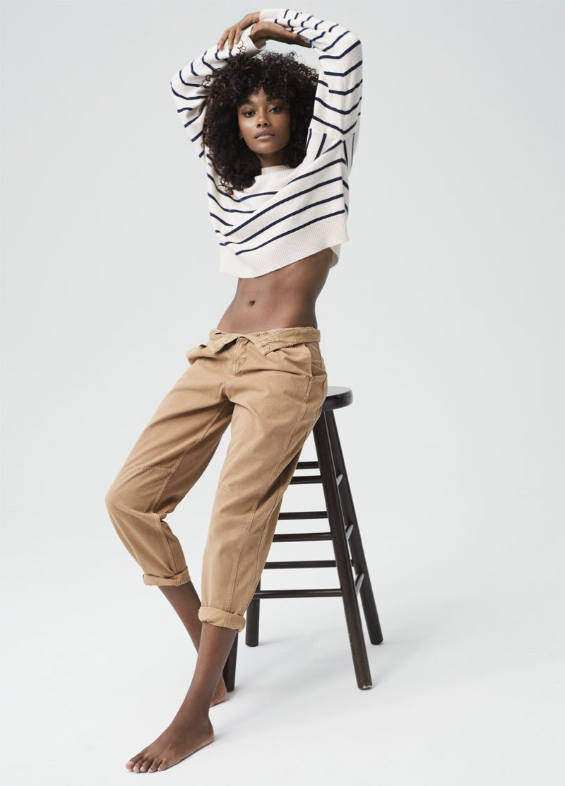 Chey Carty appears in Naked Cashmere spring-summer 2020 campaign