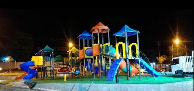 Prefeitura de Roncador vai inaugurar Playground na Praça