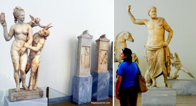 Esculturas do período clássico, Museu Nacional de Arqueologia de Atenas, Grécia