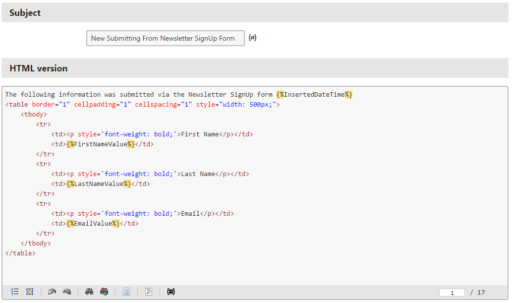 Using Kenticos Email Templates In Custom Code Technews