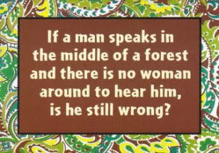Funny Man Woman Life Quote Image