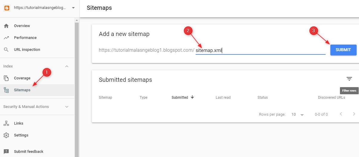 sumbit,sitemap,google,webmaster,tool