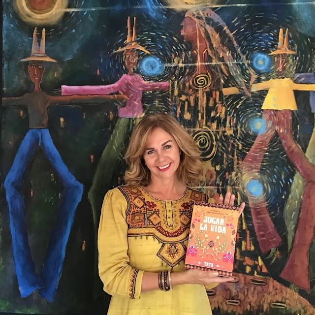 Marcela Bracho Fuentes, presentó Jugar La Vida