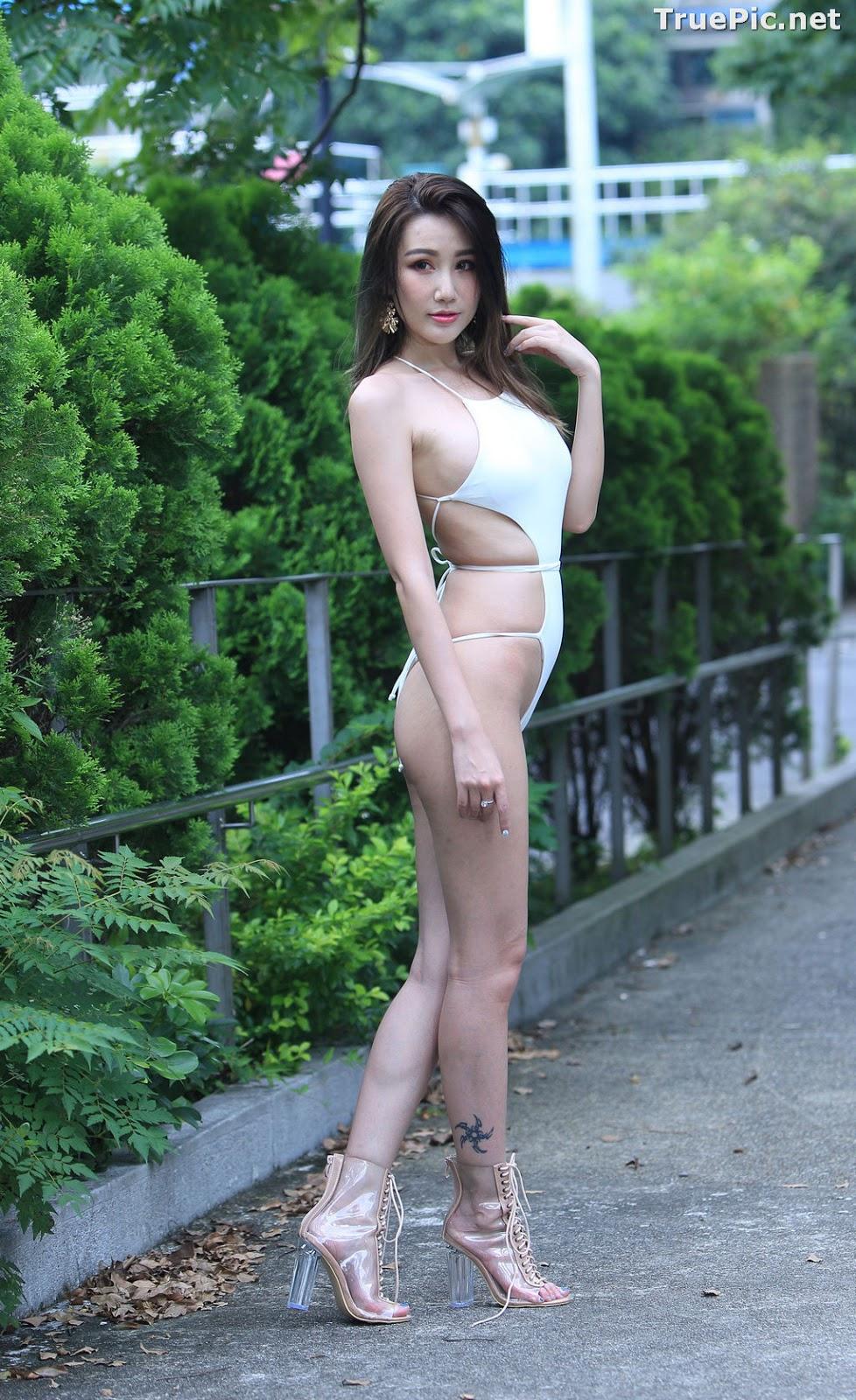 Image Taiwanese Beautiful Model - Suki - White Sexy Bikini Girl - TruePic.net - Picture-3