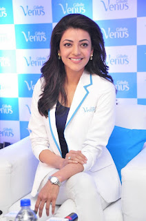 Actress Kajal Aggarwal Stills in Stylish Dress at Womens Gillette Venus Launch Event 0052.jpg
