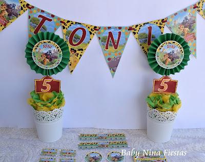 kit cumpleaños guardia del léon