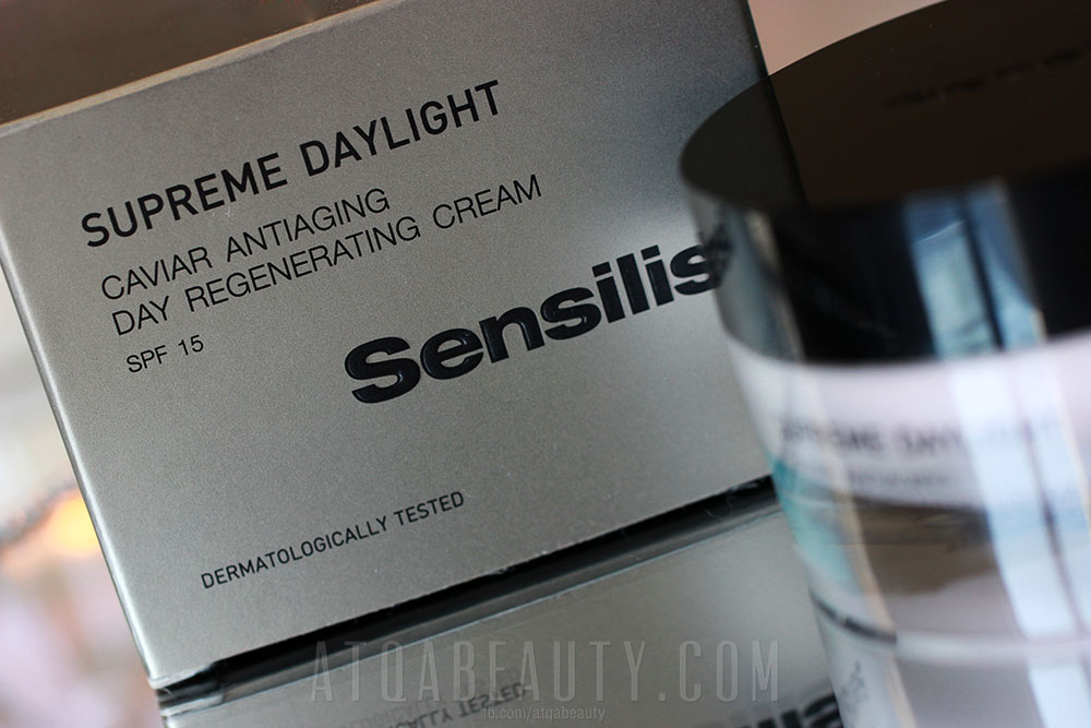 Sensilis, Supreme Daylight, Caviar Antiaging Day Regenerating Cream, SPF 15