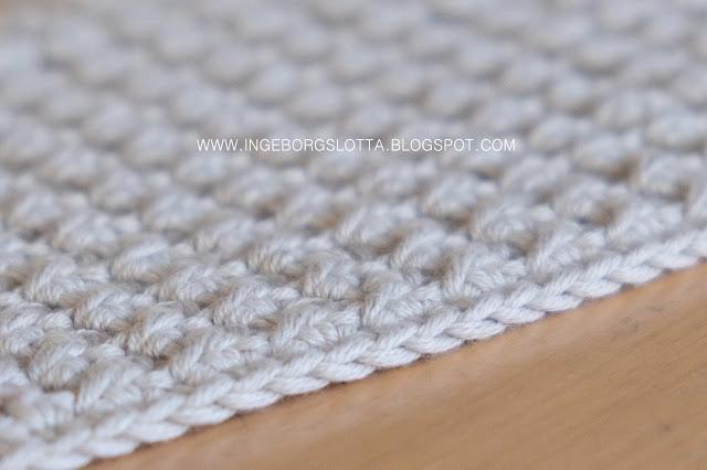 Virkad disktrasa - Crocheted dishcloth - Handmade in Finland, katia cottonyarn bomullsgarn virkattu tiskirätti
