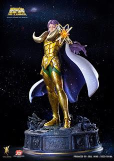 Soul Wing anuncia una estatua de 58 cm de Aries Mü de Saint Seiya