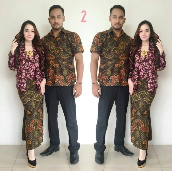 30 Model Baju Kebaya Batik Couple Modern Terbaru