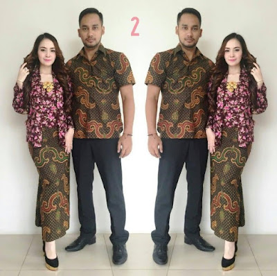 Koleksi Baju Kebaya Batik Couple Anak Muda