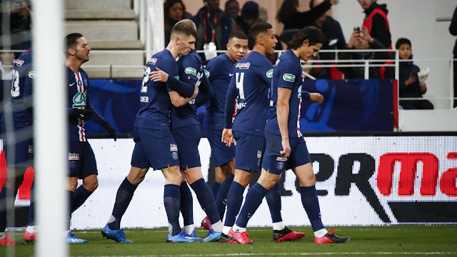 French Cup update: PSG thrashed Dijon 6-1 to cruised into semi-final.