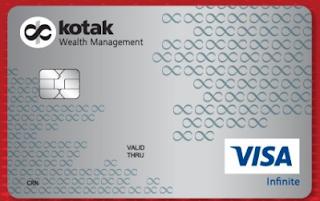 Credit Card Kotak Wealth Management Infinite