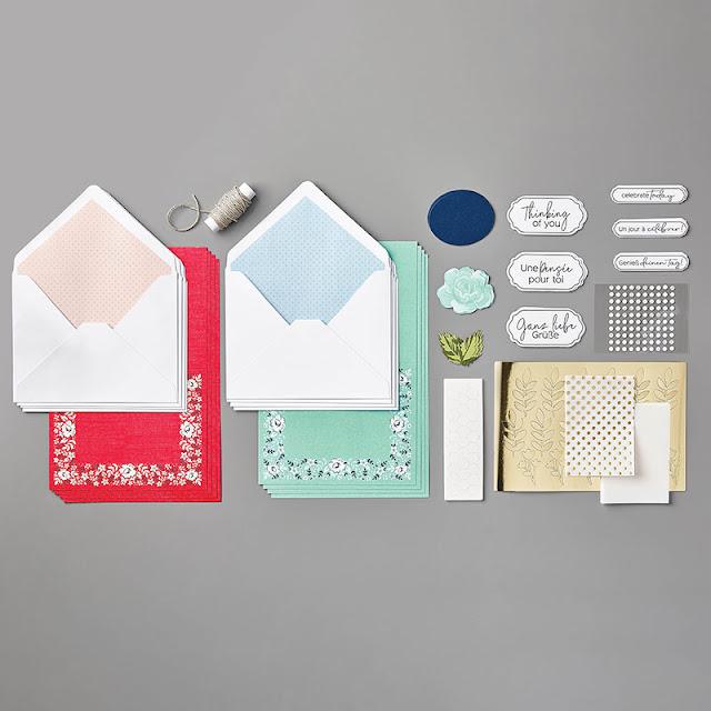 Kerchief Card Kit Stampin Up