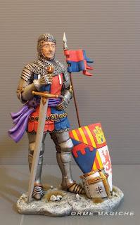 modellino cavaliere viso personalizzato soldatino armatura spada elmo scudo rievocazioni storiche orme magiche