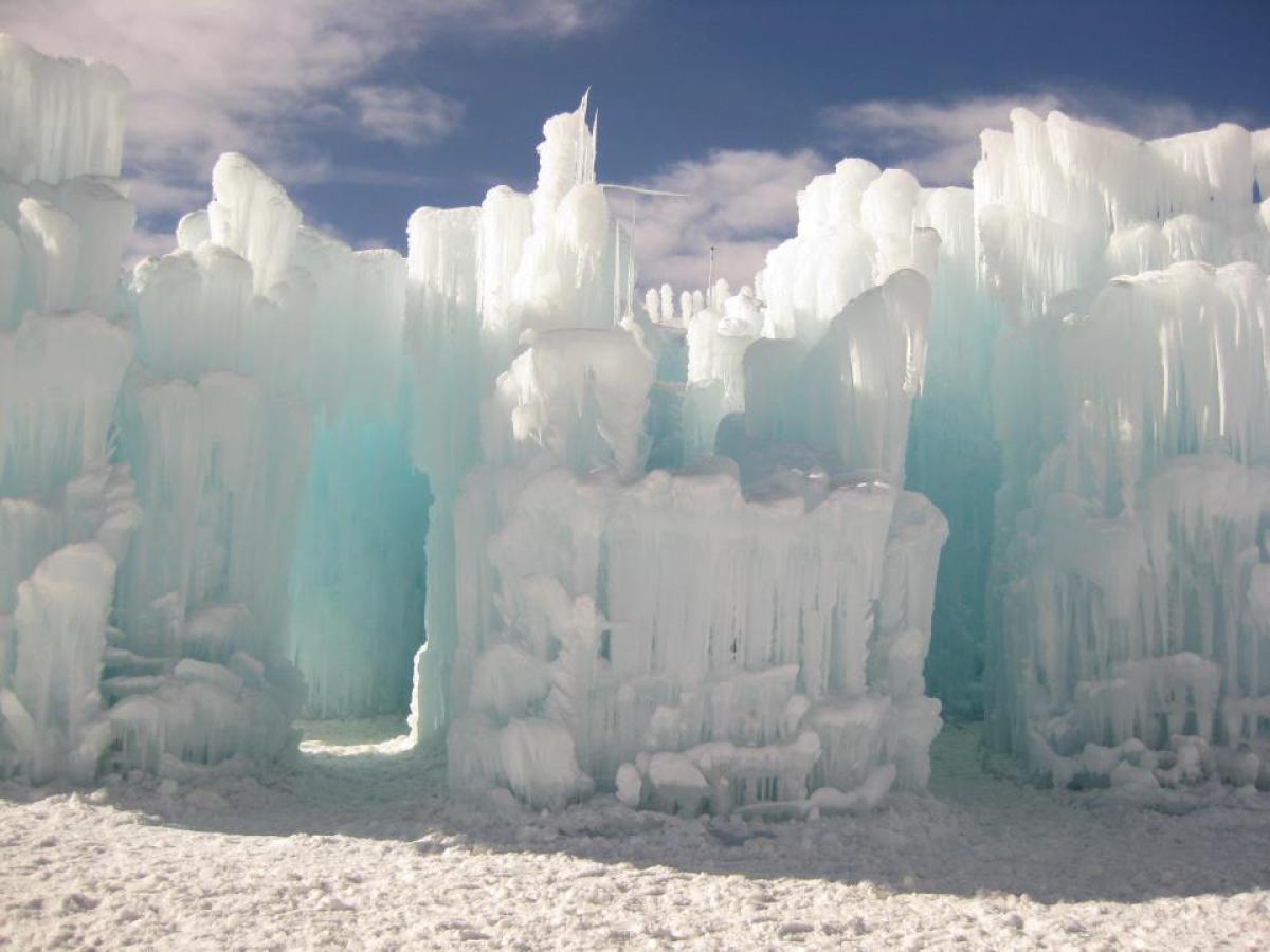 Ice Castle at Silverthorne, Colorado 5