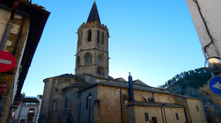 Iglesia Santa María la Real de Sangüesa.
