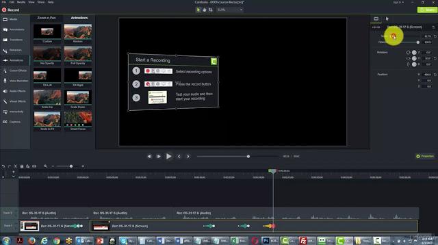 تحميل برنامج camtasia studio 9 مضغوط بحجم صغير