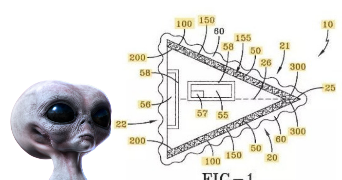 US Navy Secretly Created Triangle Aircraft Patent That Looks Like A UFO