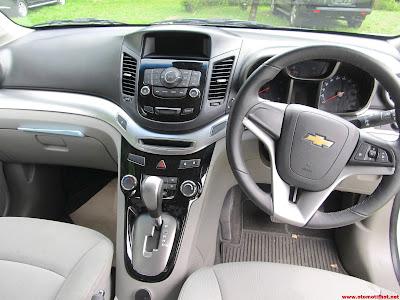 Model Interior Chevrolet Orlando