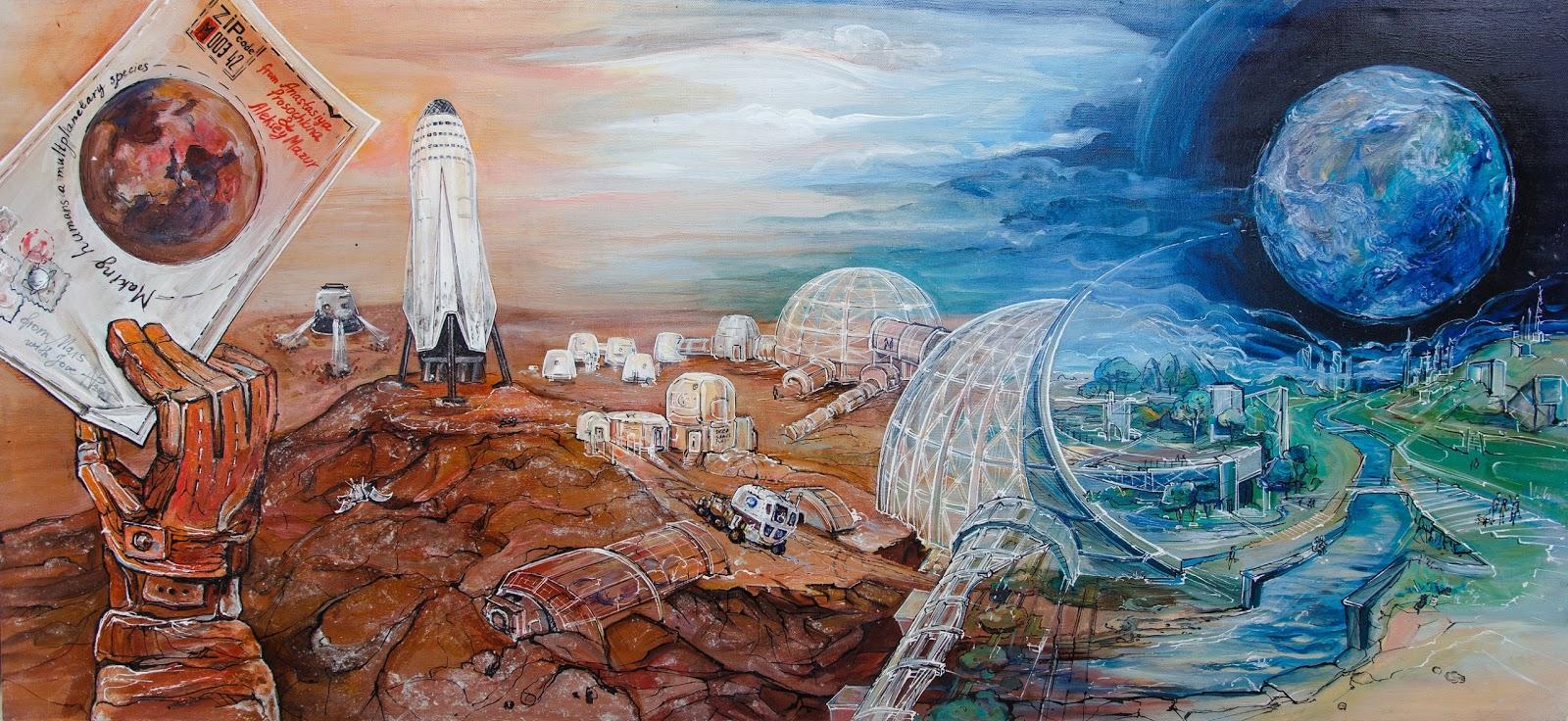 Terraforming Mars by Anastasiya Prosochkina & Aleksey Mazur