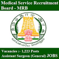 Medical Service Recruitment Board, MRB, MRB TN, freejobalert, Sarkari Naukri, , MRB TN Answer Key, Answer Key, mrb tn logo