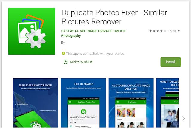 duplicate photo remover