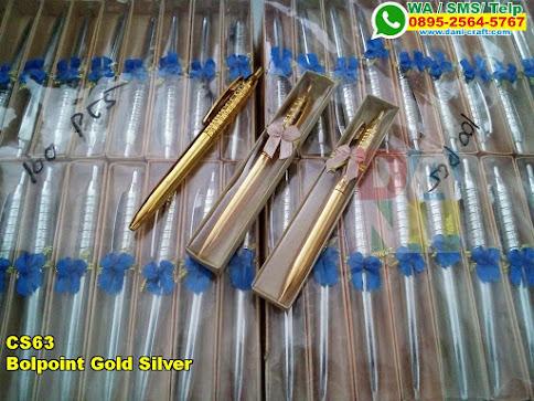 Grosir Bolpoint Gold Silver