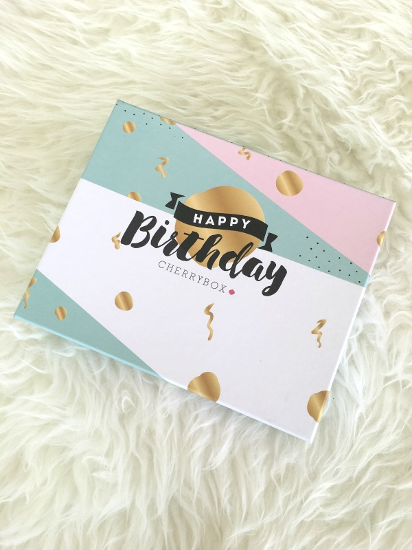 Unboxing Happy Birthday Special Edition Cherrybox - Ioanna's Notebook