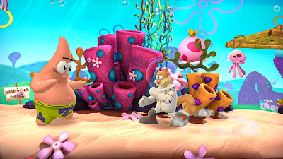 Nickelodeon All Star Brawl Game Screenshot 1