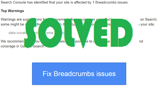 Cara Mengatasi Error Breadcrumbs data-vocabulary.org schema deprecated
