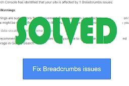 Cara Mengatasi Error Breadcrumbs data-vocabulary.org schema deprecated