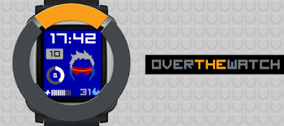Overthewatch - watchface Pebble Time / Time 2 - Overwatch inspired
