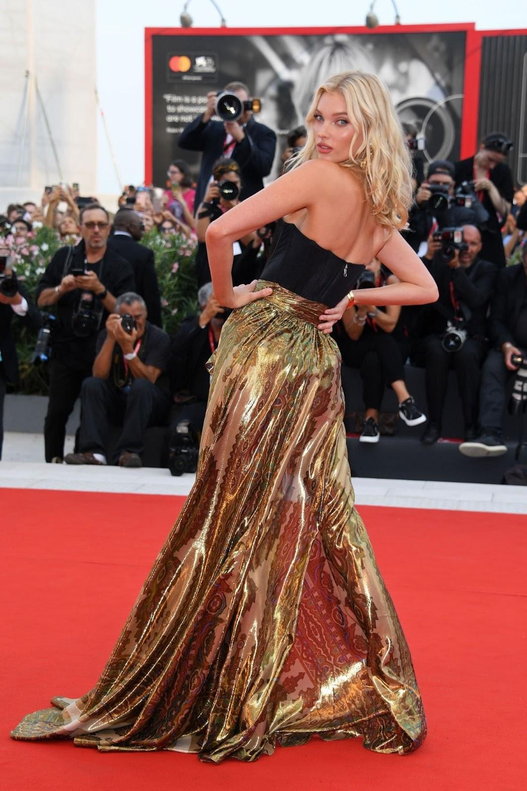Elsa Hosk – 'Marriage Story' Premiere at the 2019 Venice Film Festival red carpet