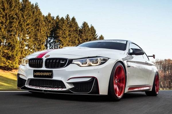 BMW M4 preparado por Manhart
