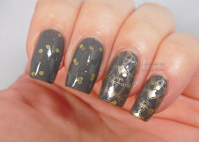Spellbound Nails Stormy Snitch + Messy Mansion Symetrika 03