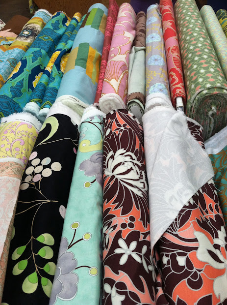 Brentwood Lane Michael Levine Fabric Shopping