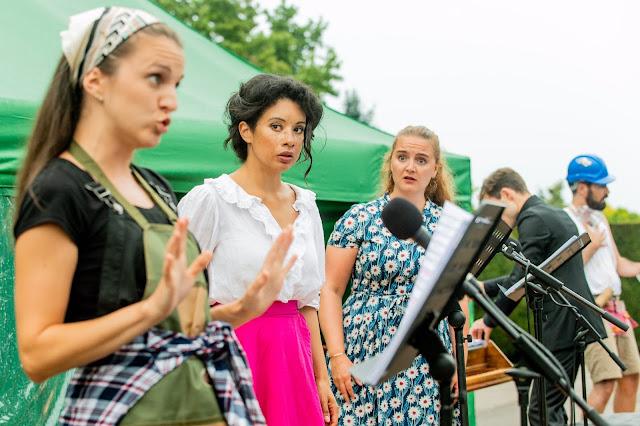 Mozart: Cosi fan tutte - Zoe Drummond, Isabelle Peters, Beth Moxon, Bertie Baigent, Damian Arnold - Waterperry Opera Festival