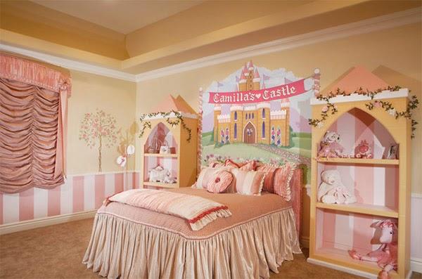 Dormitorios para ni as tema princesas dormitorios for Cuartos de ninas vonitas